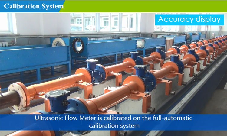 Ultrasonic flowmeter-calibration
