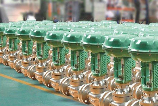 Video-Pneumatic Control valve