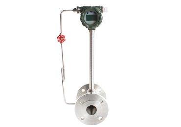 Vortex flowmeter-flow totalizer