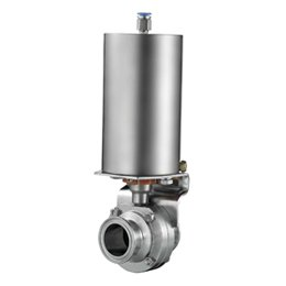 pneumatic-sanitary-butterfly-valve-with-tri-clamp-ends