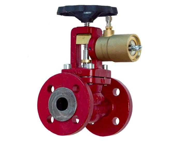 figure 8 emergency shut off valve in marine vesse