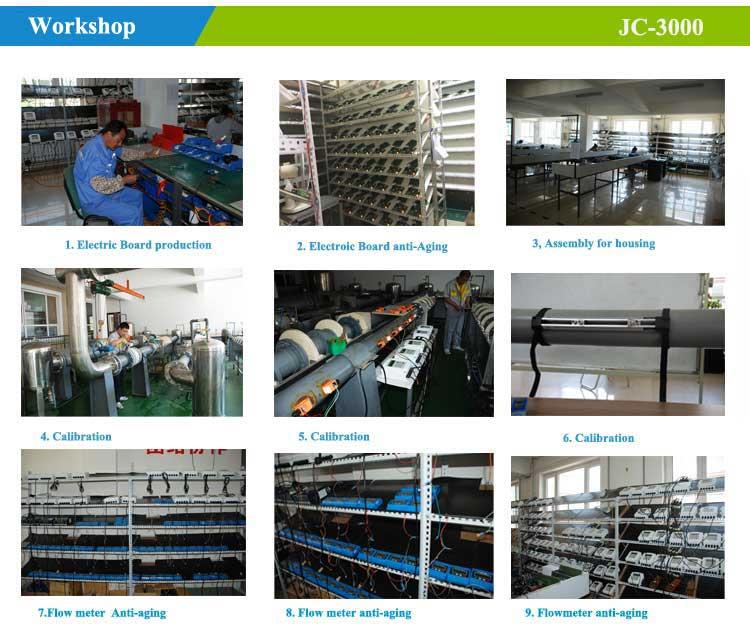 ultrasonic flowmeter-calibration&production