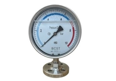 Anti-shock Diaphragm Pressure Gauge