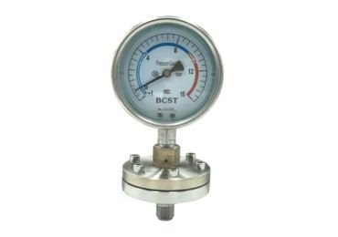 Bottom Connection Diaphragm pressure gauge