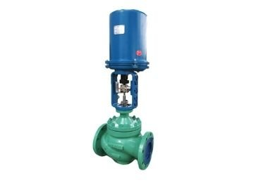 Cage Guided Electric Control Valve