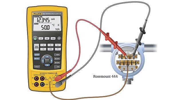 Calibration Of A Temperature Transmitter