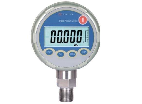 Digital pressure gauge calibrator