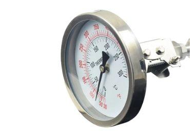 Double Scale display industrial temperature gauge