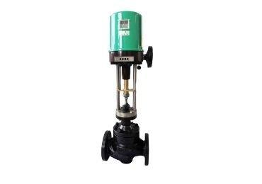 Electric control valve with handwheel
