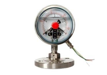 Electric Contact Diaphragm Pressure gauge