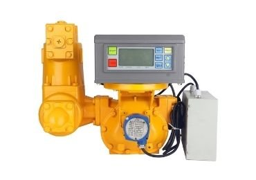 Electronic Display Positive Displacement Flowmeter