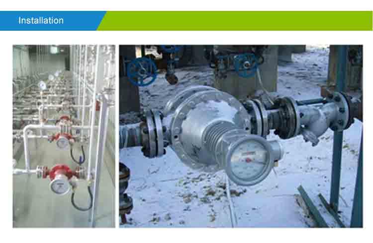 Installtion-oval-gear-flowmeter