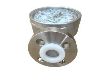 PTFE Liner Diaphragm Seal Pressure Gauge