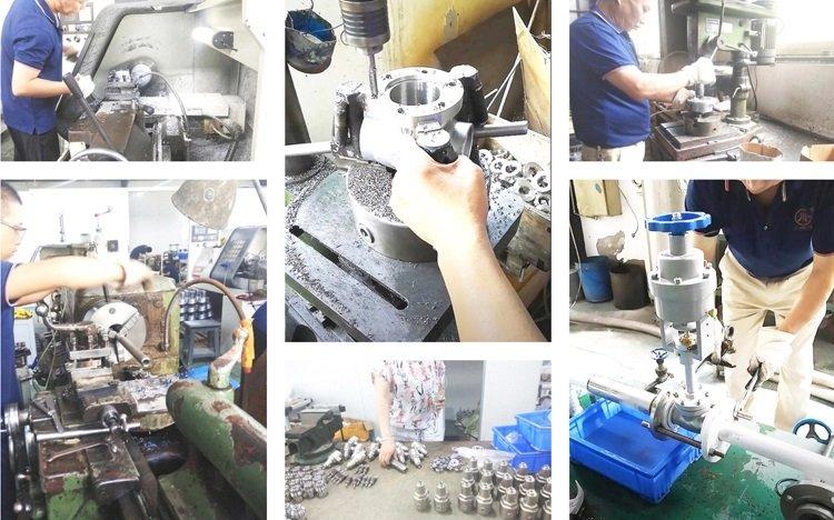 Production-electric control valve