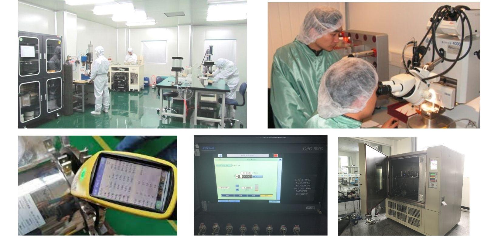 Quality control -pressure transmitter