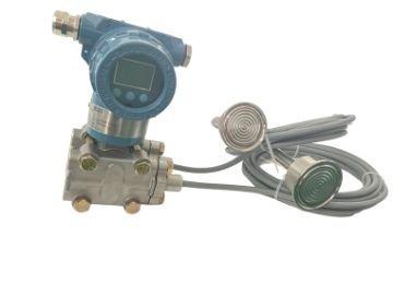 Sanitary differential pressure level transmitter