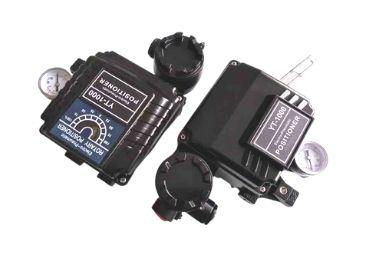 Valve automation-electro-pneumatic positioner