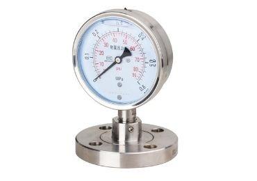 figure 12 Flange-connection-Diaphragm-Pressure-Gauge