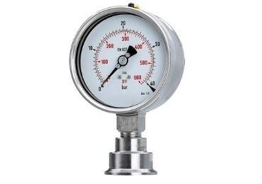 figure 2 Sanitary-diaphragm-pressure-gauge