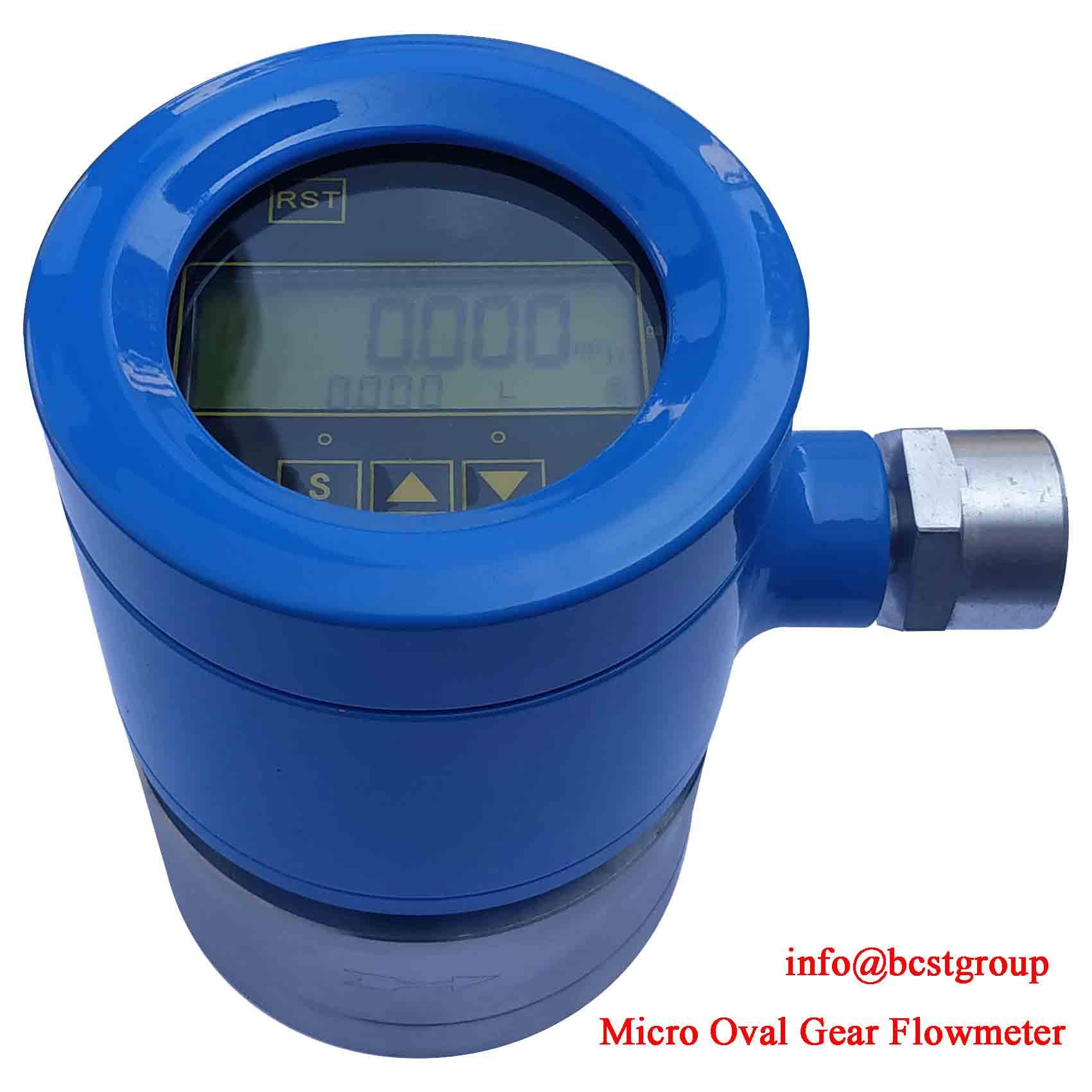 micro-oval-gear-flowmeter