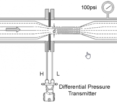 pic 1 how differential pressure level transmitter works