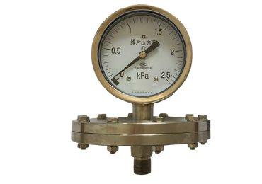 stainless steel diaphragm pressure gauge
